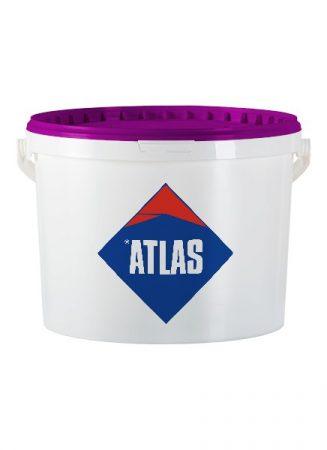 Atlas szilikát gyanta kötőanyagú nemesvakolat 1,5 mm  25 kg/vödör  kapart Fehér