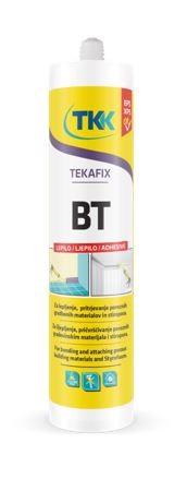 Tekafix Bt vízbázisú építési ragasztó sztiropor rögzítésére 300 ml