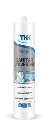 Tekasil univerzális acetát szaniterszilikon fehér 280ml