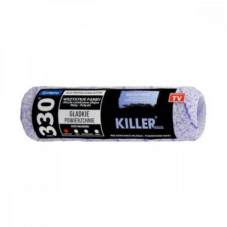 Blue Dolphin killer mikrószálas henger kosaras nyélhez 25 cm hosszú sörte magasság 13 mm
