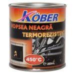 Köber hőálló festék (450 C) fekete 0,2 l