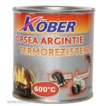 Köber hőálló festék (600 C) ezüst 0,2 l